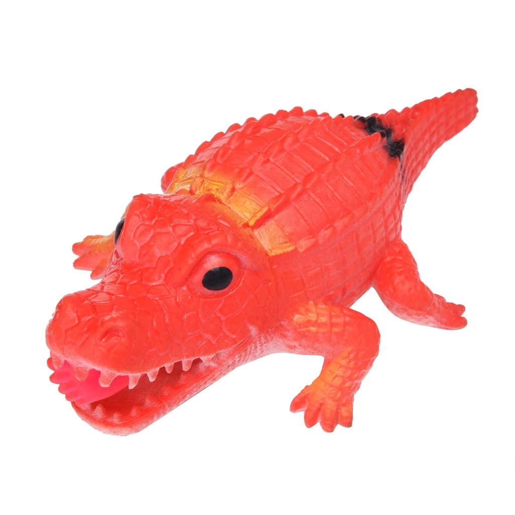 Crocodile Pops Out Leg if Squeeze 14cm Stress Relief Funny Toys 2