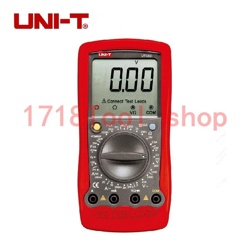 Uni T Ut58d Volt Amp Ohm Hz Temperature Digital Multimeter Red Black Digital Multimeter смеситель zenta o nest z0503