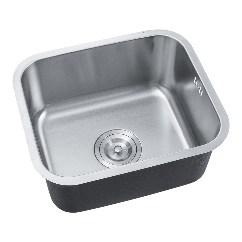 Single Bowl Prep Sink Undermount 304 Stainless Steel BOS For Kitchen Bar Laundry