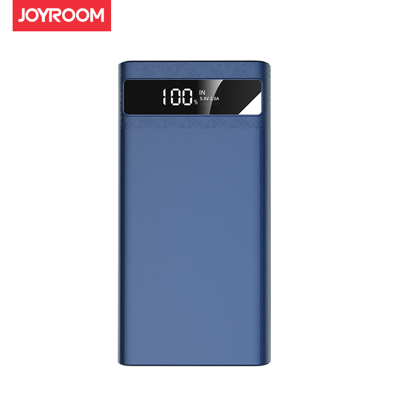 Joyroom 2.1A Max Fast Quick Charge LED Light Power Bank 10000mAh Dual USB LCD Powerbank Mobile Phone External Battery Charger
