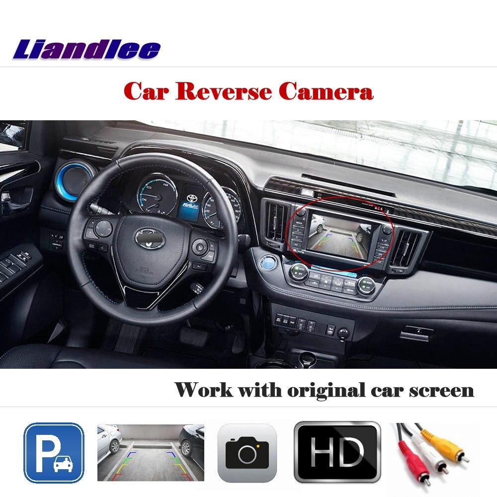 Liandlee pour Toyota RAV4 XA40 2012-2018/caméra de recul automatique caméra de recul travail avec écran d'usine de voiture