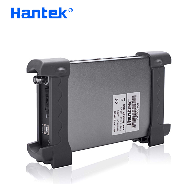 US $210 41 23% OFF Hantek Official 6104BE Digital Oscilloscope 4Channel  100Mhz Automotive Oscilloscopes USB Portrail Osciloscopio Diagnostic  tool-in