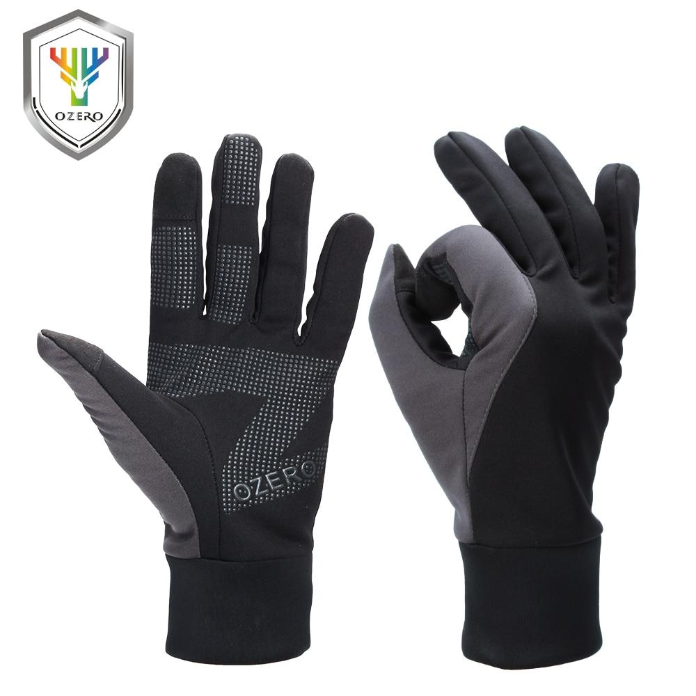 OZERO Men's Work Gloves Touch Screen Driver Sports Winter Outdoor Warm Windproof Waterproof Below Zero Gloves For Men Women 9010