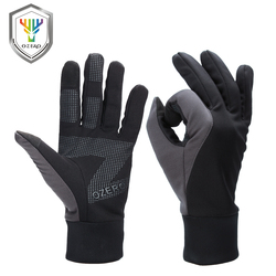 OZERO Men's Work Gloves Touch Screen Driver Sports Winter Outdoor Warm Windproof Waterproof Below Zero Gloves For Men Women 9010