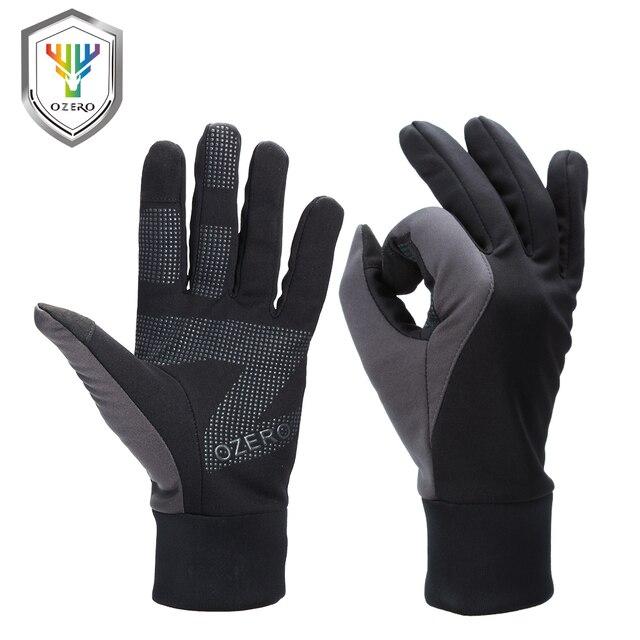 OZERO мужские рабочие перчатки с сенсорным экраном, водительские спортивные зимние уличные теплые ветрозащитные водонепроницаемые перчатки ниже нуля для мужчин и женщин 9002