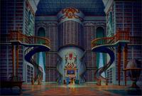 childre kids background High quality Computer print Beast Beauty Palace Stairs Staircase Hall Ballroom backdrops