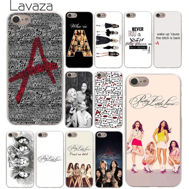 cheap for discount dbe98 7dbb3 US $1.99 22% OFF|Lavaza Pretty Little Liars tv Hard Phone Cover Case for  Apple iPhone X XR XS Max 6 6S 7 8 Plus 5 5S SE 5C 4S 10 Cases-in  Half-wrapped ...