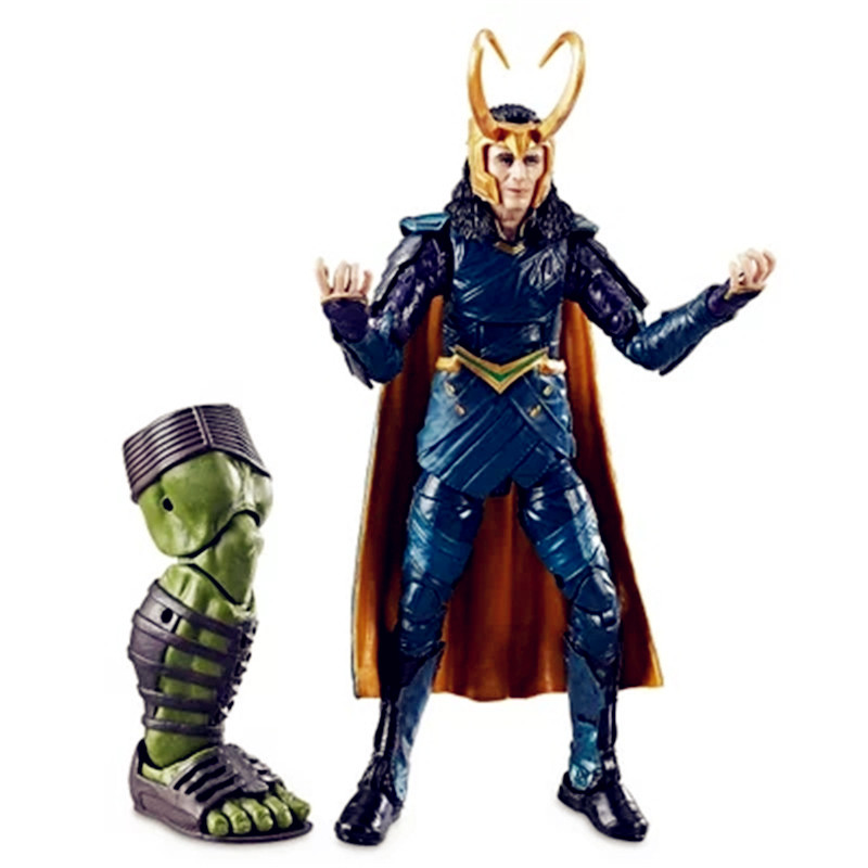 Avengers:Infinity War Supervillain Dark Magic Loki Laufeyson Joint Doll PVC Action Figure Model Toy G1182 funko pop marvel loki 36 bobble head wacky wobbler pvc action figure collection toy doll 12cm fkg120