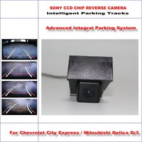Dynamic Guidance Rear Camera For Chevrolet City Express Mitsubishi Delica D:3 580 TV Lines HD 860 * 576 Parking Intelligentized