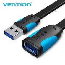 Кабель-удлинитель Vention USB 3,0, Суперскоростной кабель-удлинитель для мужчин и женщин, 1 м, 2 м, 3 м, USB кабель-удлинитель для передачи данных и синхронизации