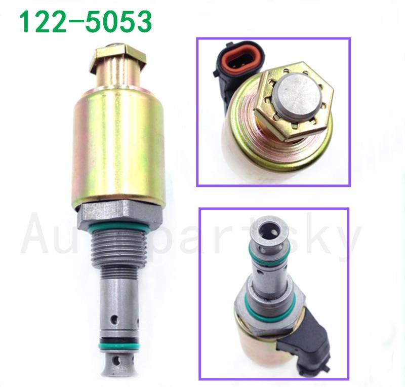 Factory Price - OEM 122-5053 1225053 Oil Pump Solenoid Valve Pressure Regulator For Parkins Engine Caterpillar CAT 325 322C