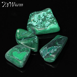 KiWarm Beautiful Chrysocolla Tumbled Stones Malachite Healing Crystal Gemstone For Fish Tank Aquarium Flowerpot Decor 20-30mm(China)