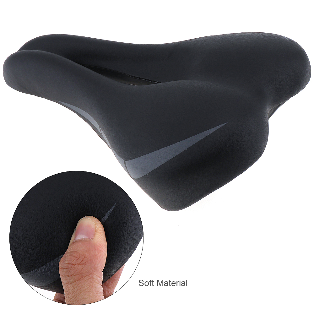 New Thickened Soft High end Cycling Bike Saddle Seat with Hollow Breathable Design for Mountain Bicycle in Bicycle Saddle from Sports Entertainment