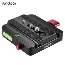 Andoer محول الاتصال السريع مع الإفراج السريع انزلاق لوحة ل Manfrotto ترايبود 577 استبدال