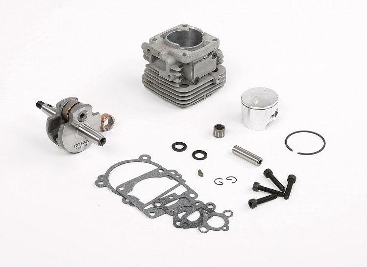 Kit de pédalier de cylindre de moteur à essence 2 temps Rovan 32cc 36cc pour véhicule rosi KM ROVAN MCD DTT 1:5 RC