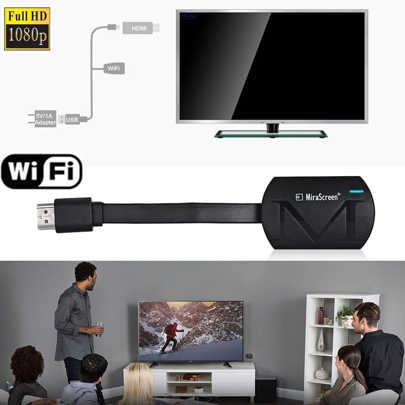 MiraScreen G4 <font><b>TV</b></font>-Stick <font><b>Dongle</b></font> Anycast Guss HDMI WiFi Anzeige Receiver Miracast Mini PC <font><b>Android</b></font> <font><b>TV</b></font> image