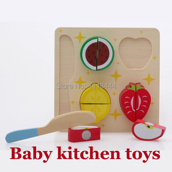 Baby Toy Children Kitchen Toys Colorful Cut Play House Toys Kitchen Accessories Fruit Vegetable Pretend Cocina