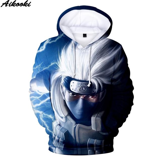 Naruto Men Winter Pullovers 3D Hoodie