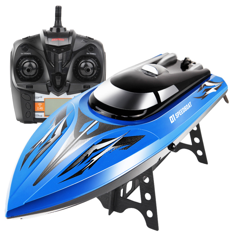 SYMA Q1 Remote Control Speedboat 2.4GHZ 4CH RC boat Water Sensor Switch Cooling Device High Quality Toys Gift VS FT012 aluminum water cool flange fits 26 29cc qj zenoah rcmk cy gas engine for rc boat