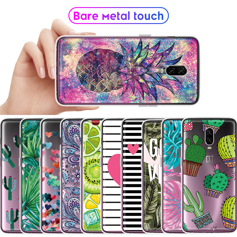 Pattern Silicon Case For font b OnePlus b font 6 6T font b 7 b font