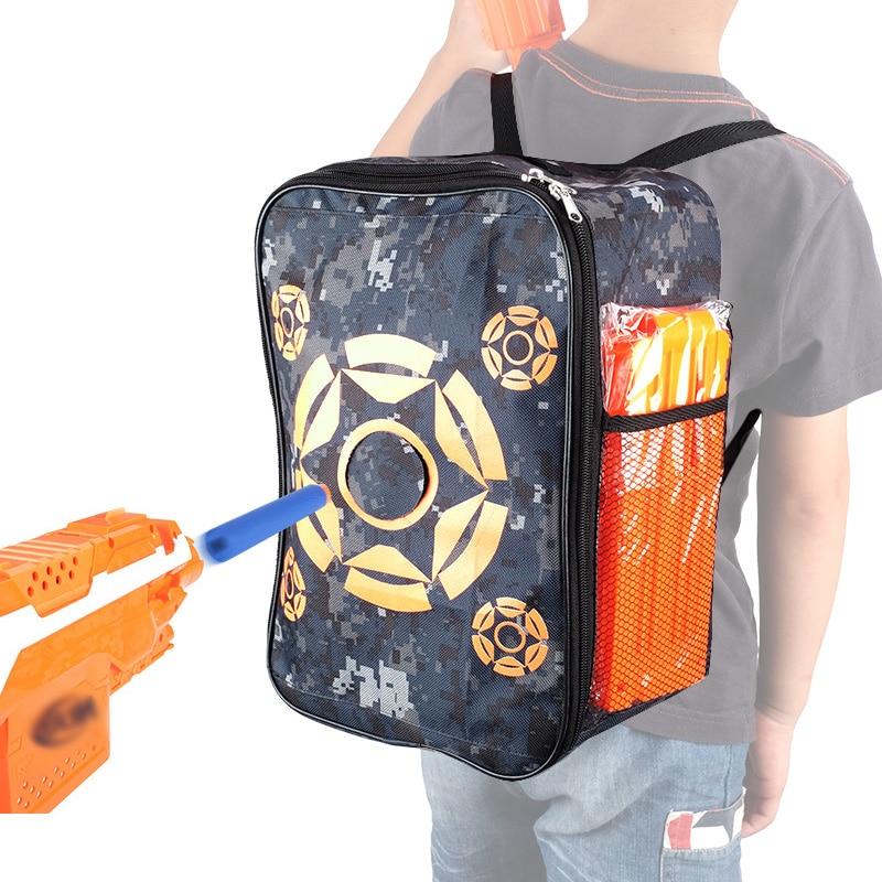 Accesorii copii Gun Toy Tactical Backpack Bullet Target Bag pentru - Sport și în aer liber