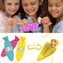 Peel Off Surprise Banana Dolls Creative Bananas Collectible Toy Random Bunch Plastic Funny Gifts For Baby Kids T