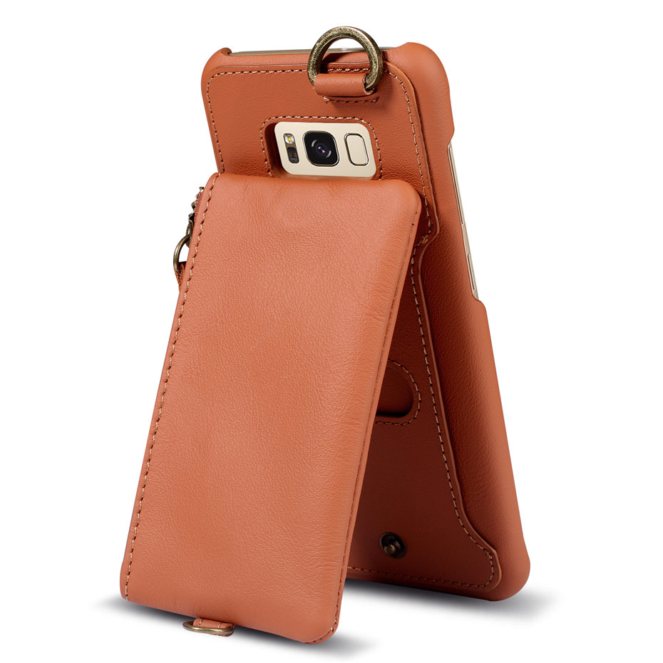 COQUEN For Samsung Galaxy S8 Case Leather Wallet Phone Cases Luxury Card Holder Stand Flip Cover For Samsung Galaxy S8 Plus Case (7)