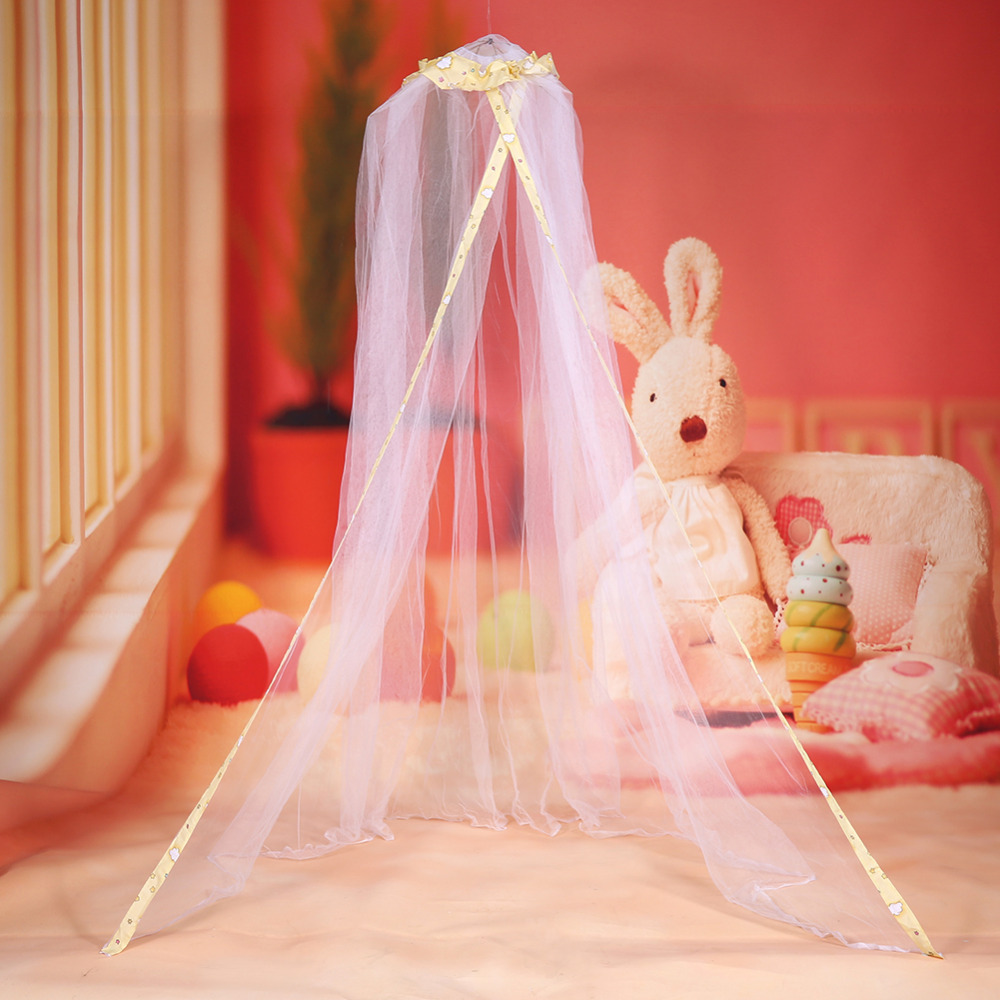 2 Colors Cute Baby Children\'s Bed Mosquito Nets Cute Baby Princess ...