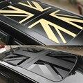 Автомобиль люк Обёрточная бумага виниловой пленки окна на крыше Юнион Джек Стикеры наклейка зонт для MINI Cooper JCW S One + F54 f55 F56 F60 аксессуары