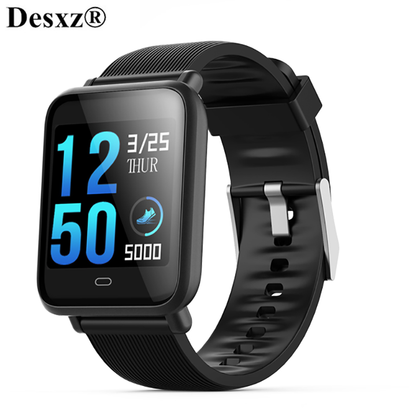 Desxz Smart Watch IP67 Waterproof Blood Pressure Heart Rate Monitor Sport Fitness Trakcer Watch Men Women Smartwatch colmi v11 smart watch ip67 waterproof tempered glass activity fitness tracker heart rate monitor brim men women smartwatch