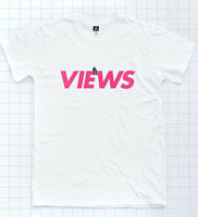 Views T shirt From The 6 Boy Meets Tee Assassination Pray Hands Hotline Tour Top2019 fashionable Brand 100%cotton Printed Round