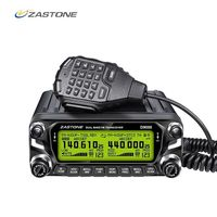 Zastone D9000 Car Walkie Talkie 50KM Car Radio Station 50W UHF/VHF 136 174/400 520MHz Two Way Ham Radio HF Transceiver