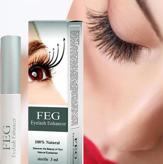 100% Natural FEG Eyelash Enhancer Eyelash Growth Treatment Serum Natural Herbal Medicine Eye Lashes Mascara Lengthening Longer