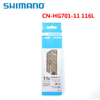 SHIMANO CN HG701 11S ULTEGRA 11 Speed Original Chain 116L Connecting Pin DEORE XT MTB Bicycle Parts