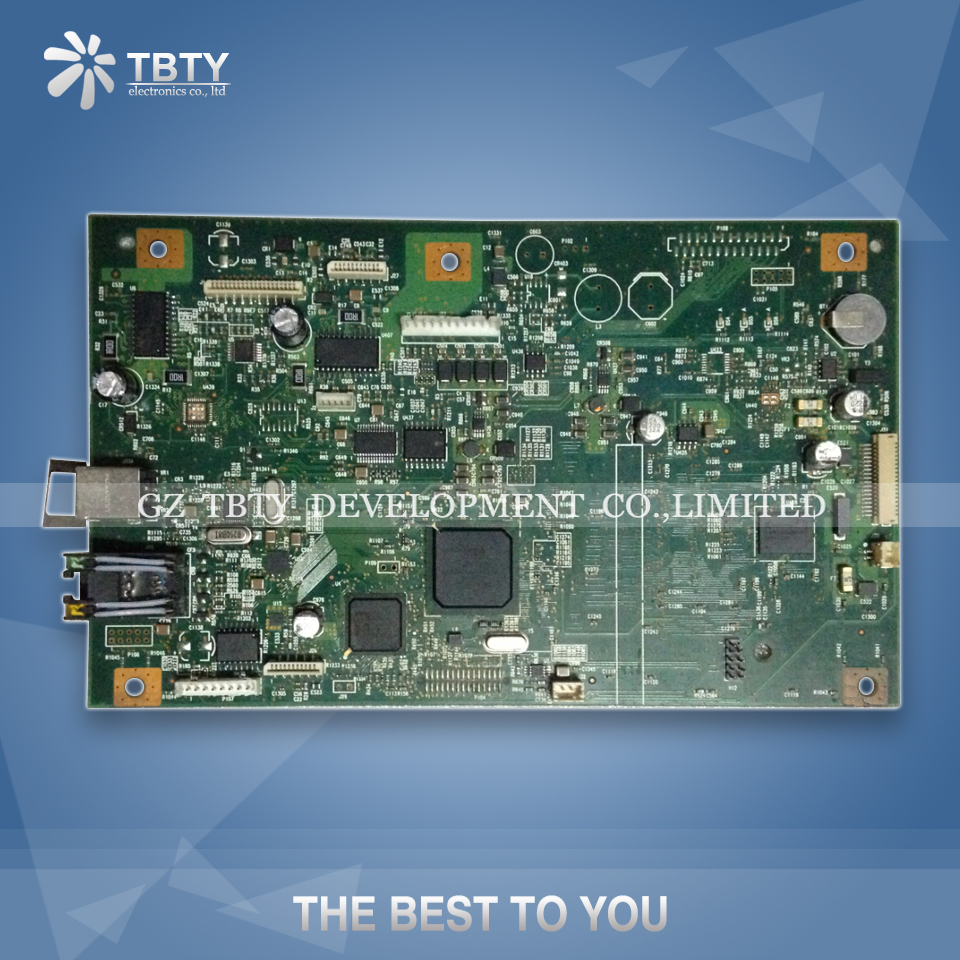 все цены на 100% Guarantee Test Main Formatter Board For HP M1522NF 1522NF 1522 NF CC368-60001 HP1522NF Mainboard On Sale онлайн