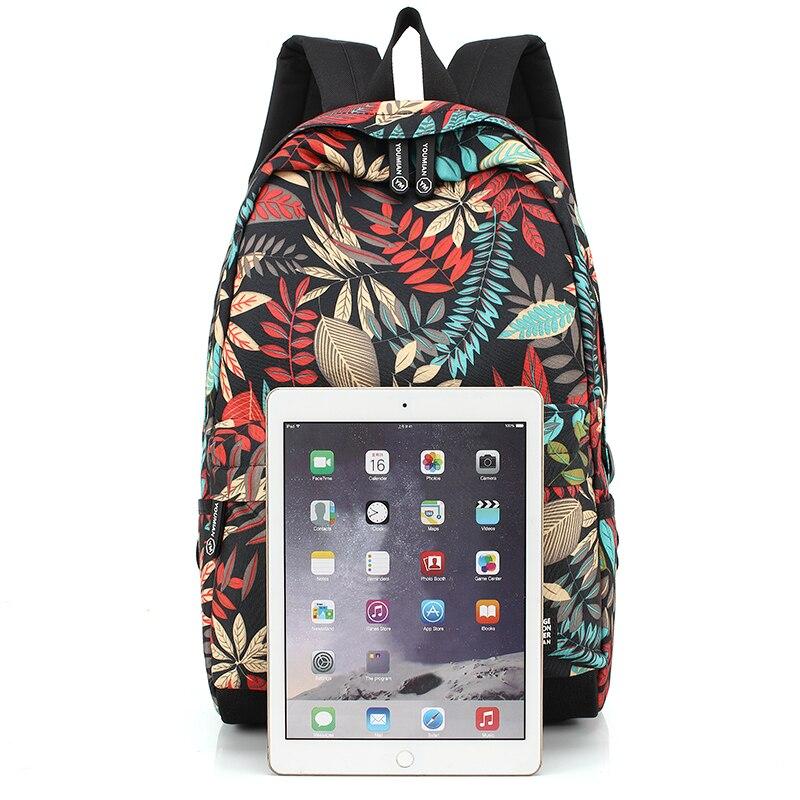 Image 5 - New big bag female travel school bag student bag backpack  printing waterproof  youth  boy girl childrens school bags  teenagerBackpacks