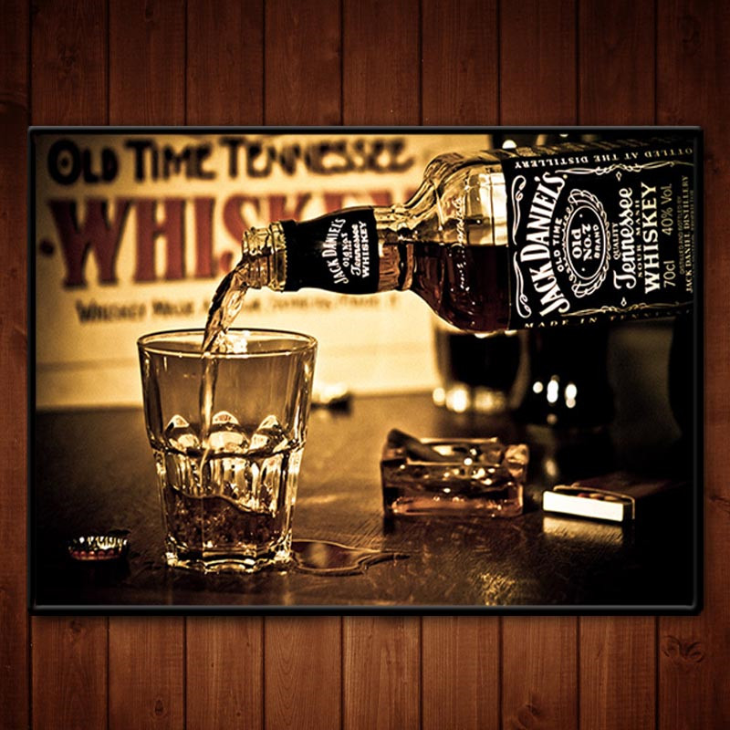 Popular Jack Daniels Wall Decor