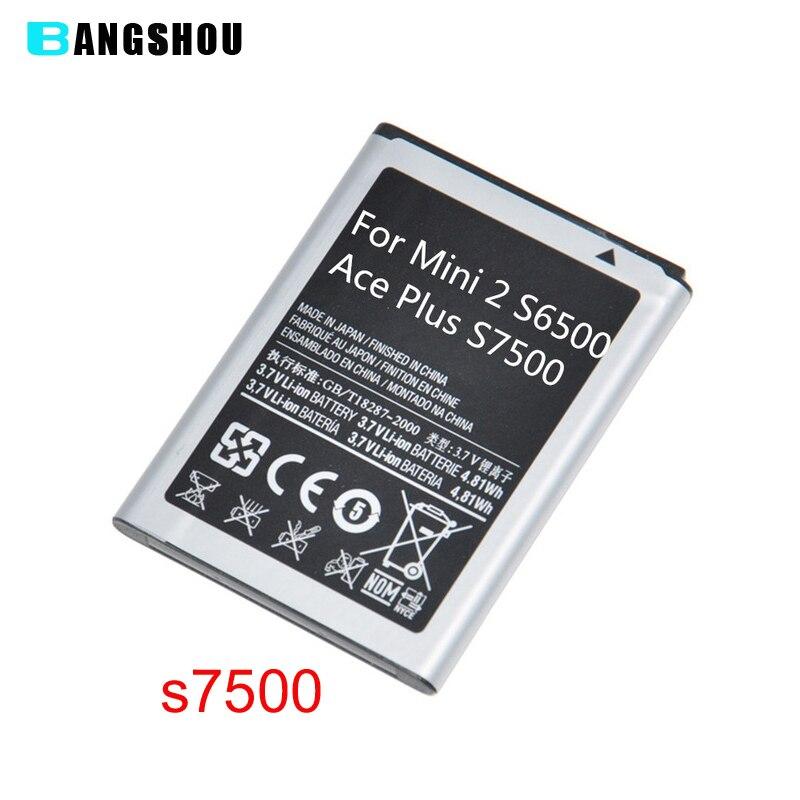Pour Samsung Galaxy Mini 2 S6500 Galaxy Ace Plus GT-S7500 S7500 Galaxy Ace Duos S6802 GT-S6802 Batterie De Remplacement EB494358VU