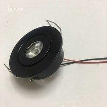 10pcs/lot  Mini LED Cabinet Spotlights DC12V CREE Recessed Spot light Diameter 52mm Include Led Driver