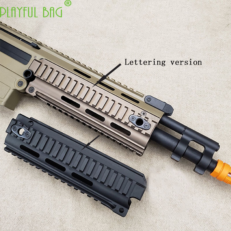 Jinming10 J10 ACR Toy Water Bullet Gun Modification TRI Upgrade Material Fish Bone Three-sided Guide Rail Fish Bone OJ31