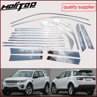 match for Discovery Sport window trim cover window frame/sill, 22pcs&18pcs,thick 304 stainless steel,ISO9001 quality suppplier