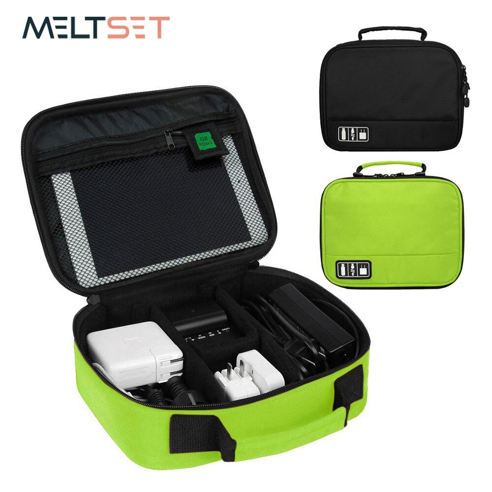 Reise Digitale Zubehör Lagerung Tasche Electornic Geräte Gadget Organizer Fall Tragbare USB Kabel Ladegerät Organisation