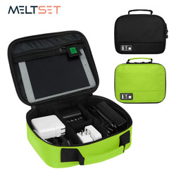 Travel Digital Accessories Storage Bag Electornic Devices Gadget Organizer Case Portable USB Cable Charger Organization