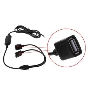 Image 5 - Auto Ladegerät Dual USB Weibliche Stecker 12 V zu 5 V 3A DC zu DC Power Supply Converter Für DVR