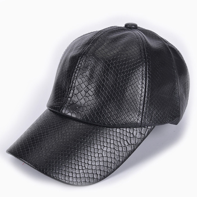 120cce69 US $8.95 |Men winter hat for women fashion Baseball Cap women fall faux  Leather cap hip hop snapback Hats -in Baseball Caps from Apparel  Accessories ...