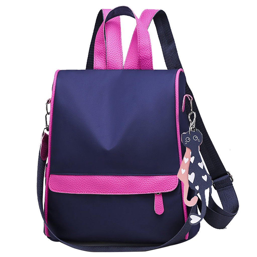 ALI shop ...  ... 32987913612 ... 3 ... New Backpack Women Oxford Multifuction Bagpack Casual Anti Theft Backpack for Teenager Girls Schoolbag 2019 mochila ...