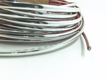 5 Metres Car Chrome Styling Molding Trim Strip 4MM For Automobile Interior air-Condition Taillight Edge High Quality Sticker