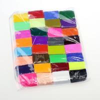 5 כלים + 32 צבעים חימר פולימרים פימו בלוק גומי מגנט מגנטי צעצועי ילד צעצועי DIY דפוס דוגמנות חימר טיפשי DIY P5