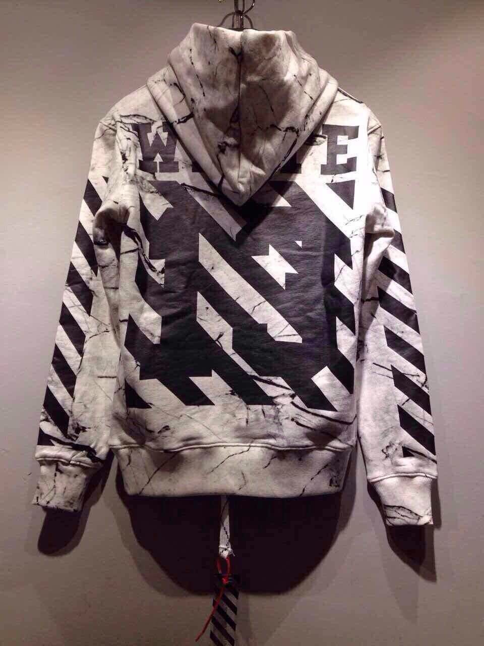 35c53dce7484 Top Quality Off White Virgil Abloh Fashion Painting Hooded Pyrex Vision  Hoodie Cotton Men s New Leisure