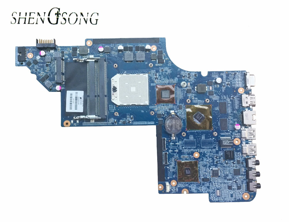 640453-001 Free Shipping For Hp DV6 DV6-6000 laptop motherboard AMD DDR3 Mainboard full tested 100% tested free shipping 100% tested 665347 001 board for hp pavilion dv6 6000 dv6 motherboard with for intel hm65 chipset